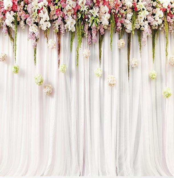 Hochzeitsfotohintergrund