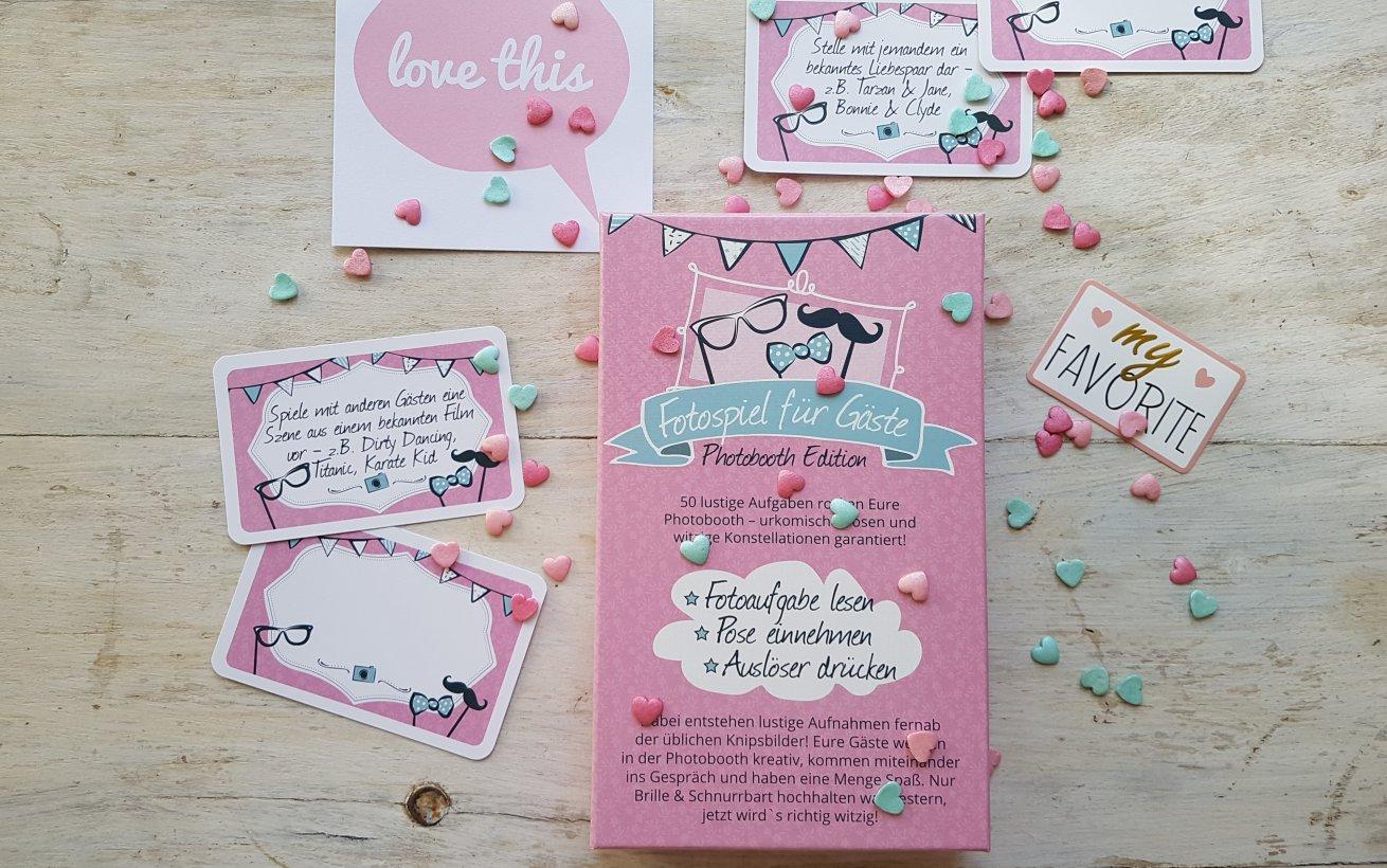Fotospiel zur Hochzeit Photobooth Edition