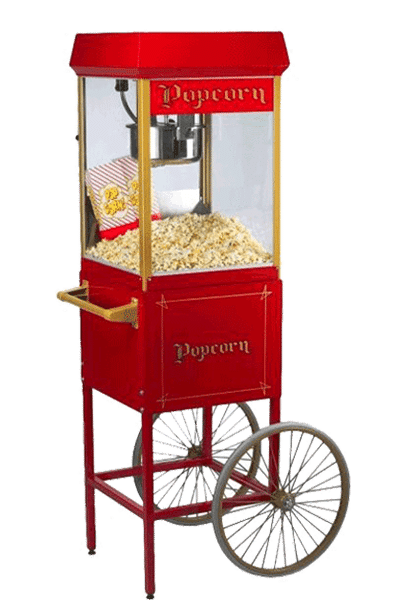 Nostalgie 8 Oz Popcornmaschine
