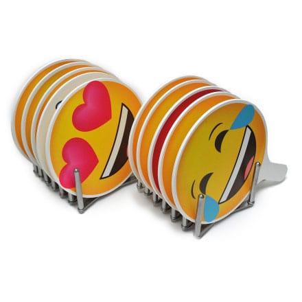 Emoji-Schilder 10er Set