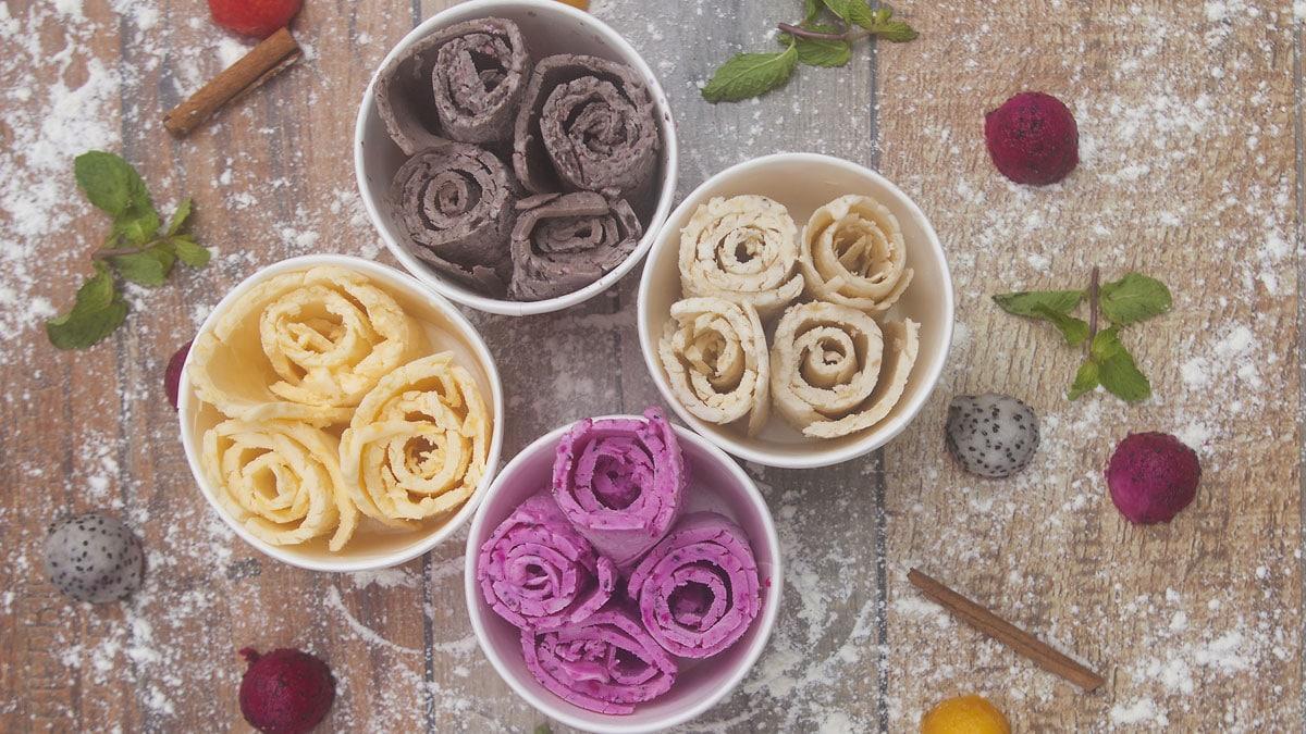 Rolled Ice Cream – Leckere Ice Rolls Rezepte